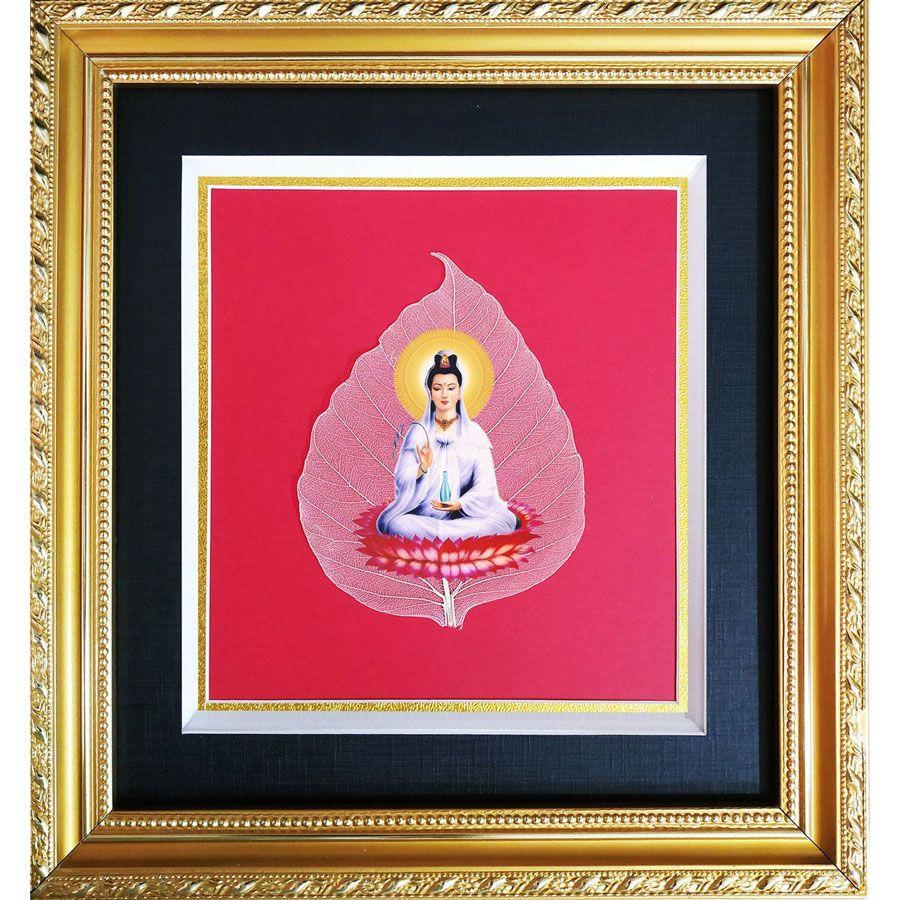 Tranh Phật Quan Âm Trên Là Bồ Đề HPB-2212