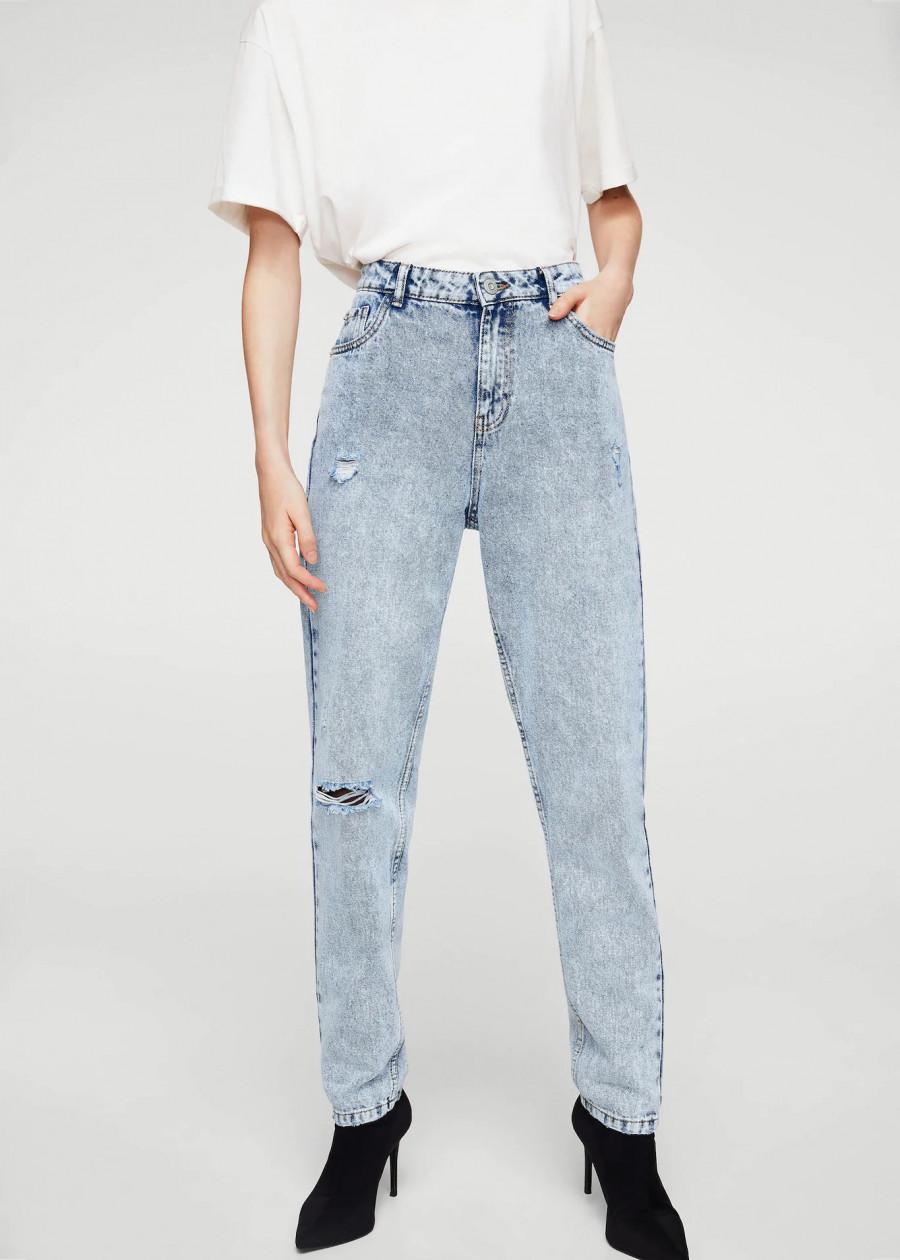 Quần Jeans Nữ Mom1 Mango 13020298