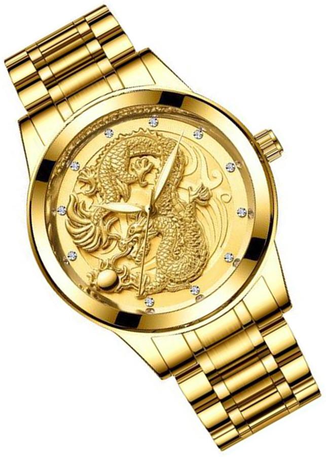 Đồng hồ thời trang nam đồng hồ nam rồng vàng chạm nổi 3D - 1020688 , 7548317391686 , 62_13311616 , 450000 , Dong-ho-thoi-trang-nam-dong-ho-nam-rong-vang-cham-noi-3D-62_13311616 , tiki.vn , Đồng hồ thời trang nam đồng hồ nam rồng vàng chạm nổi 3D