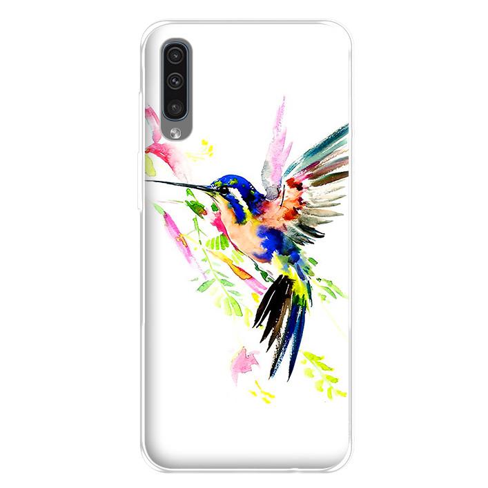 Ốp lưng dẻo cho điện thoại Samsung Galaxy A50 - 224 0059 BIRD02
