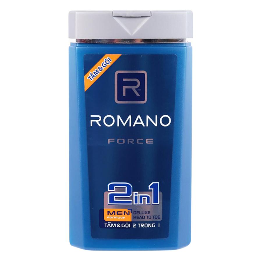 Sữa Tắm Gội Romano Force (180g)