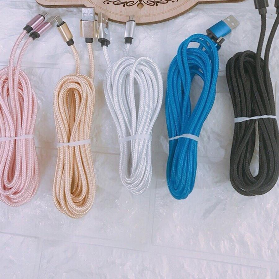 Cáp sạc dài 3M dành cho iphone hỗ trợ sạc nhanh, bọc dây dù siêu bền - 9905108 , 5710529069406 , 62_19730710 , 140000 , Cap-sac-dai-3M-danh-cho-iphone-ho-tro-sac-nhanh-boc-day-du-sieu-ben-62_19730710 , tiki.vn , Cáp sạc dài 3M dành cho iphone hỗ trợ sạc nhanh, bọc dây dù siêu bền