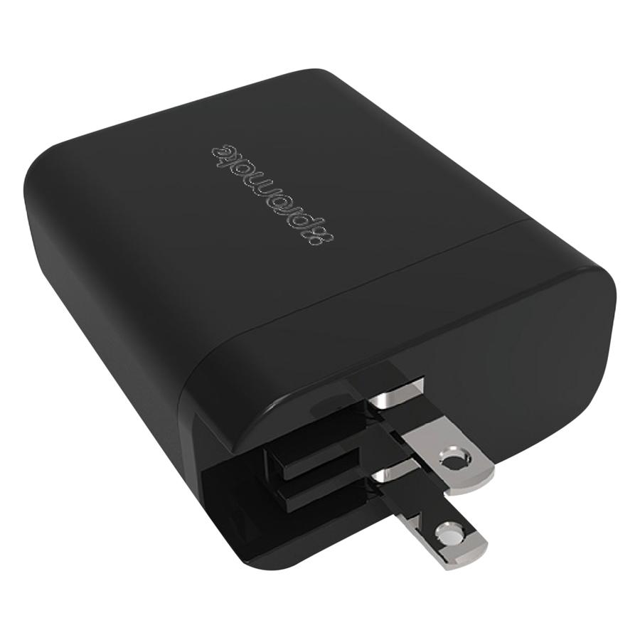 Sạc USB Type-C Promate Powerhub-QC-UNI 30W - Hàng Chính Hãng (Đen)