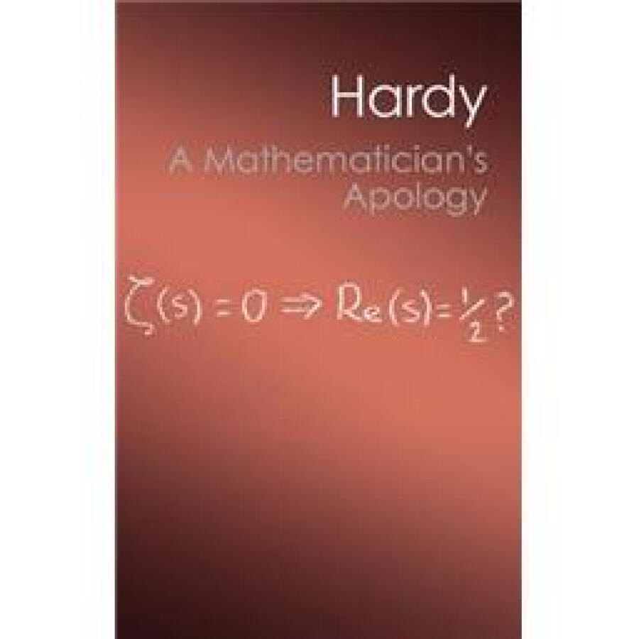 A Mathematicians Apology (Canto Classics)