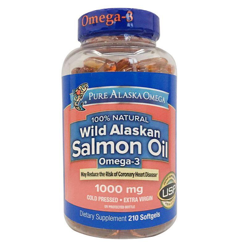 Thực phẩm bổ sung Dầu Cá hồi Pure Alaska Omega-3 Wild Salmon Oil 1000mg của Mỹ - 18745058 , 6589548047103 , 62_37651740 , 600000 , Thuc-pham-bo-sung-Dau-Ca-hoi-Pure-Alaska-Omega-3-Wild-Salmon-Oil-1000mg-cua-My-62_37651740 , tiki.vn , Thực phẩm bổ sung Dầu Cá hồi Pure Alaska Omega-3 Wild Salmon Oil 1000mg của Mỹ