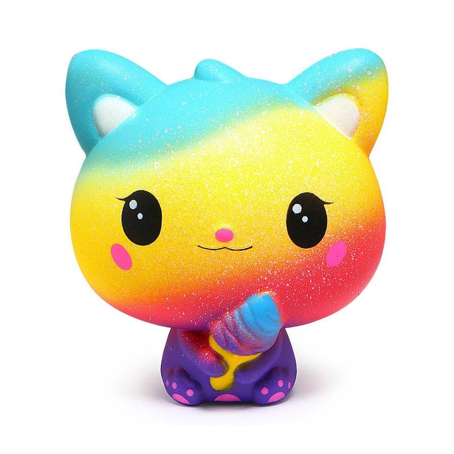 Mô hình nhân vật Mèo vàng đáng yêu (squishy) SQ110