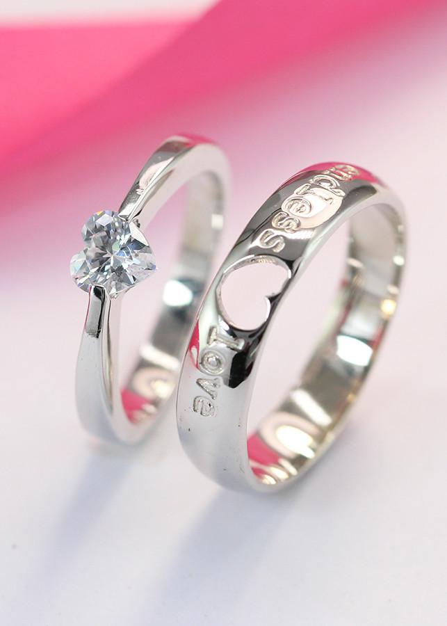 Nhẫn đôi bạc nhẫn cặp bạc hình trái tim ND0060 - 1877596 , 2643521539086 , 62_10160853 , 550000 , Nhan-doi-bac-nhan-cap-bac-hinh-trai-tim-ND0060-62_10160853 , tiki.vn , Nhẫn đôi bạc nhẫn cặp bạc hình trái tim ND0060
