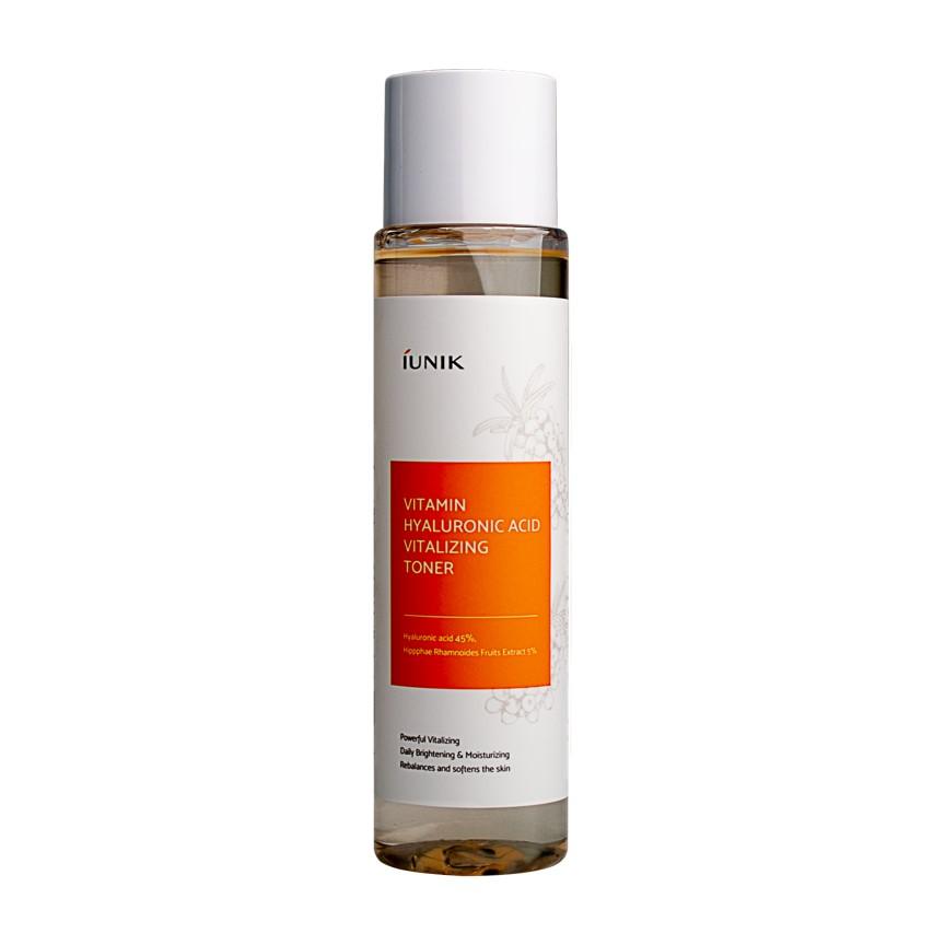 Nước Cân Bằng iUNIK Vitamin Hyaluronic Acid Vitalizing Toner