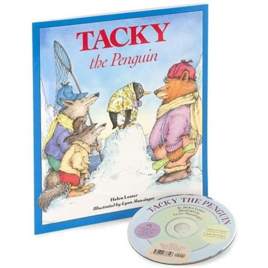 Tacky the Penguin (Book and CD) (Read Along Book  CD)