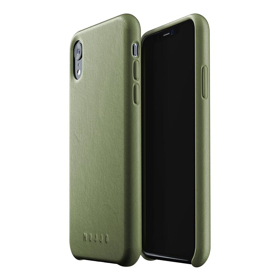 Ốp Lưng Bằng Da Dành Cho iPhone XR Mujjo