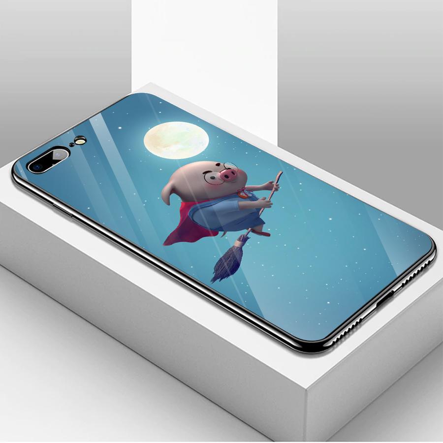 Ốp kính cường lực dành cho điện thoại iPhone 7/8 Plus - heo hồng - hh197 - 1739643 , 7250836272970 , 62_13626584 , 205000 , Op-kinh-cuong-luc-danh-cho-dien-thoai-iPhone-7-8-Plus-heo-hong-hh197-62_13626584 , tiki.vn , Ốp kính cường lực dành cho điện thoại iPhone 7/8 Plus - heo hồng - hh197