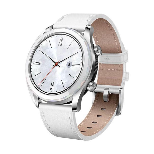 Đồng hồ thông minh Huawei Watch GT Elegant Bạc - Hàng nhập khẩu