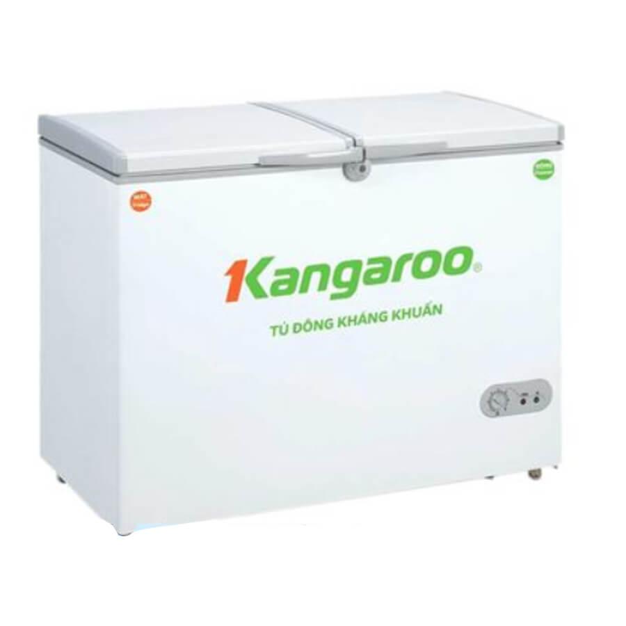Tủ đông kháng khuẩn Kangaroo 388L 2 ngăn, 2 cánh KG388C2