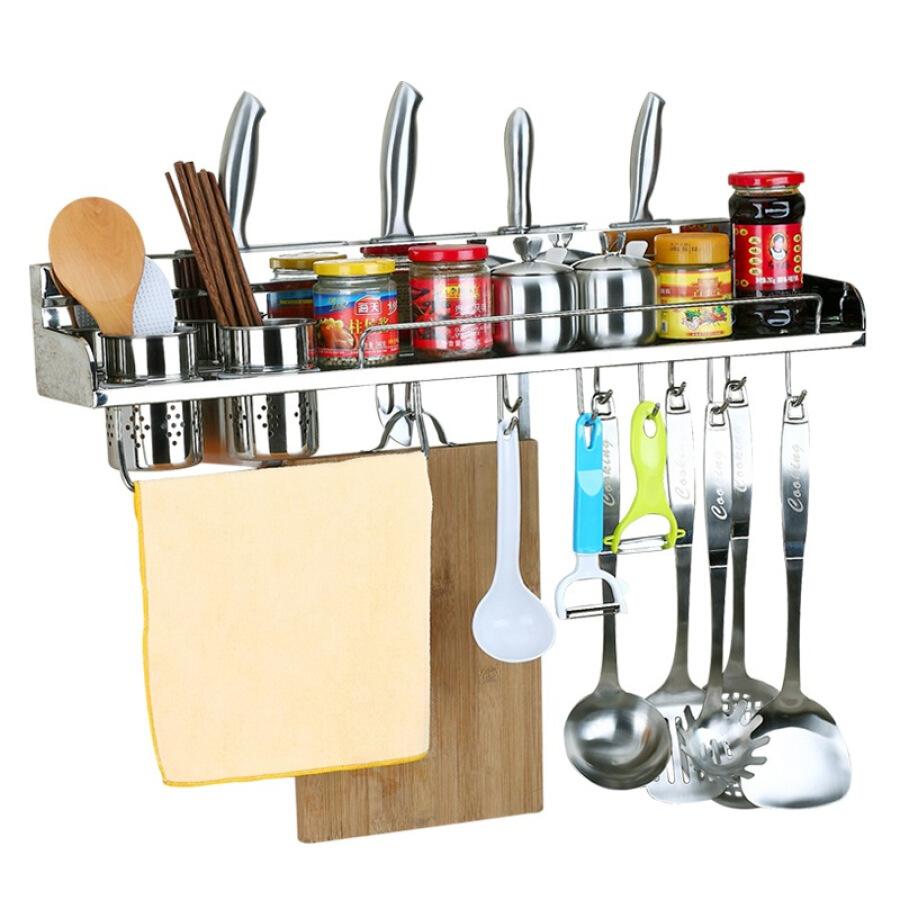 Giá Để Dụng Cụ Nhà Bếp Kitchen (maxcook) 304 Thép Không Gỉ Treo Tường 60cm MCWA-BG602