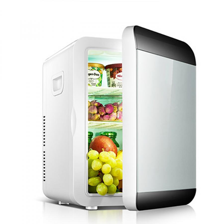 Tủ lạnh Hyundai mini 13.5l - Tủ lạnh ô tô 12V và 220V NH9465