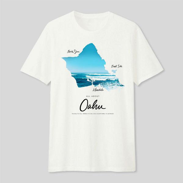 Áo T-shirt Trẻ Em Oahu Dotilo HT121 - Trắng