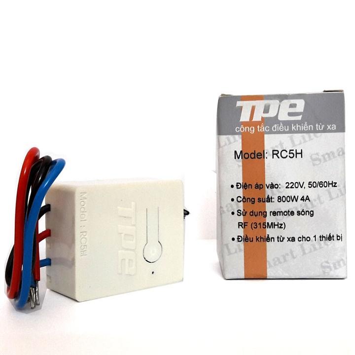 Công tắc điều khiển từ xa cho máng đèn TPE RC5H - 1065287 , 6801857953341 , 62_3613199 , 100000 , Cong-tac-dieu-khien-tu-xa-cho-mang-den-TPE-RC5H-62_3613199 , tiki.vn , Công tắc điều khiển từ xa cho máng đèn TPE RC5H