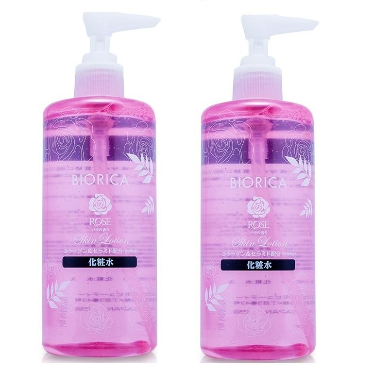 Bộ 2 chai nước hoa hồng se khít lỗ chân lông BIORICA ROSE Nhật bản ( 300ml)- HÀNG CHÍNH HÃNG