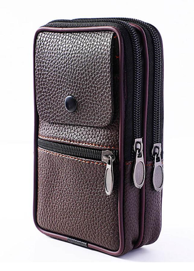 Túi đeo ngang hông đựng điện thoại da PU dành cho nam dạng dọc - nâu - 1308870 , 8491301255329 , 62_7942125 , 69000 , Tui-deo-ngang-hong-dung-dien-thoai-da-PU-danh-cho-nam-dang-doc-nau-62_7942125 , tiki.vn , Túi đeo ngang hông đựng điện thoại da PU dành cho nam dạng dọc - nâu