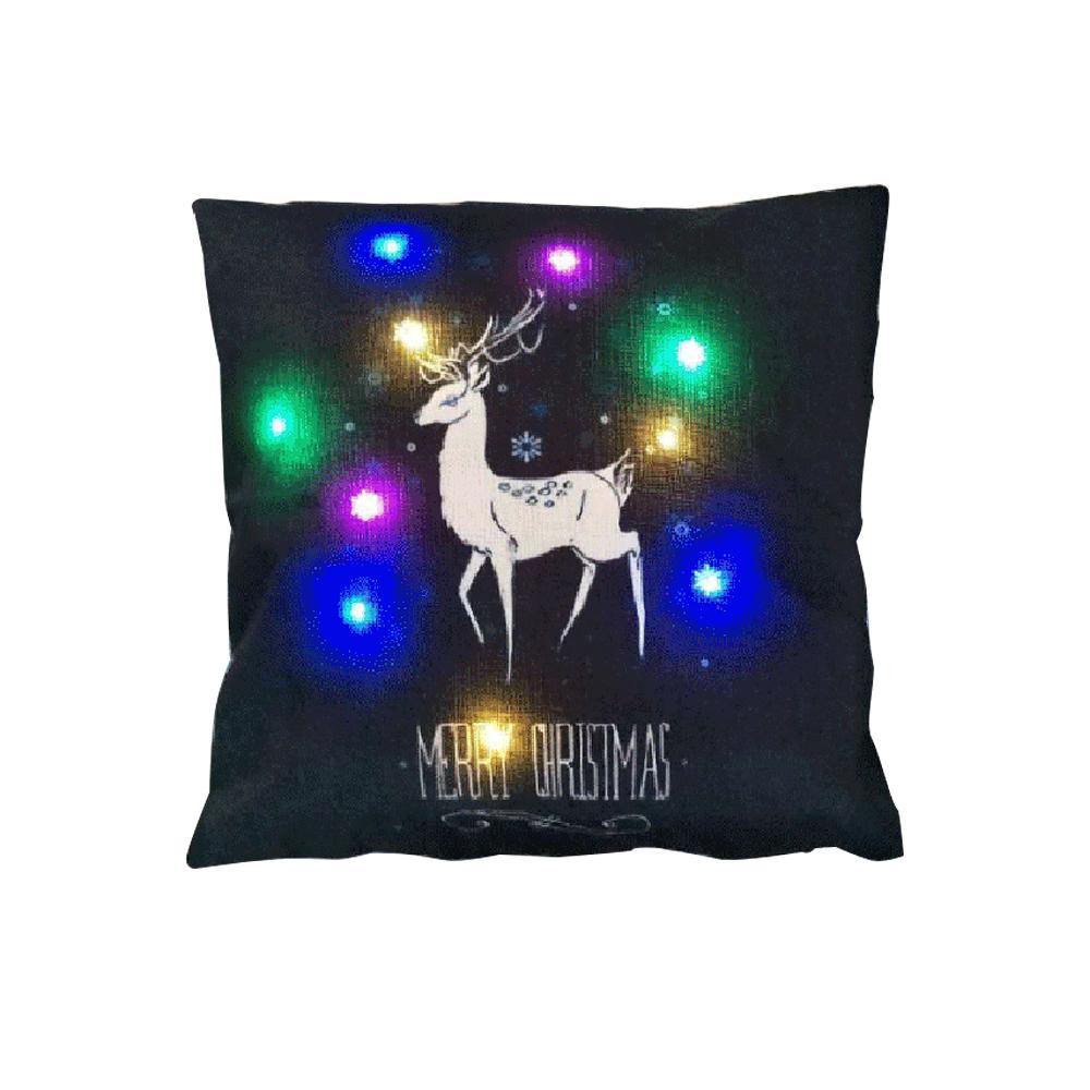 18 x 18 inches / 45 x 45cm Linen Colorful LED Light Merry Christmas Cushion Cover Decorative Sofa Car Throw Pillow Case (Style C) - 15762953 , 5906738795988 , 62_29099604 , 218400 , 18-x-18-inches--45-x-45cm-Linen-Colorful-LED-Light-Merry-Christmas-Cushion-Cover-Decorative-Sofa-Car-Throw-Pillow-Case-Style-C-62_29099604 , tiki.vn , 18 x 18 inches / 45 x 45cm Linen Colorful LED Lig