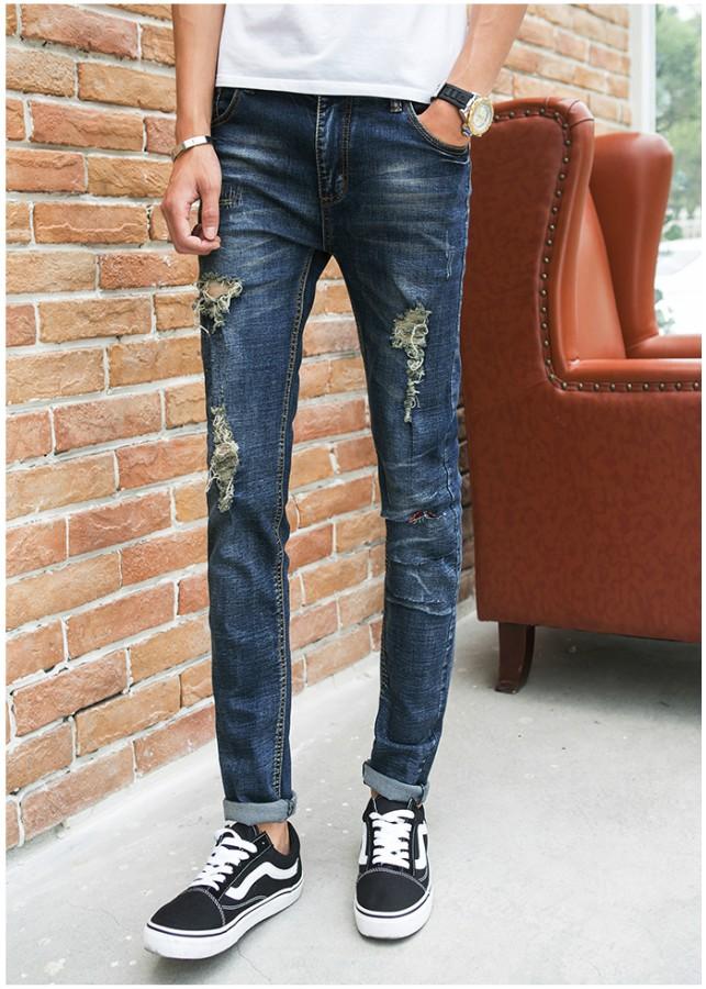Quần jeans nam túi rách Mã: ND0668