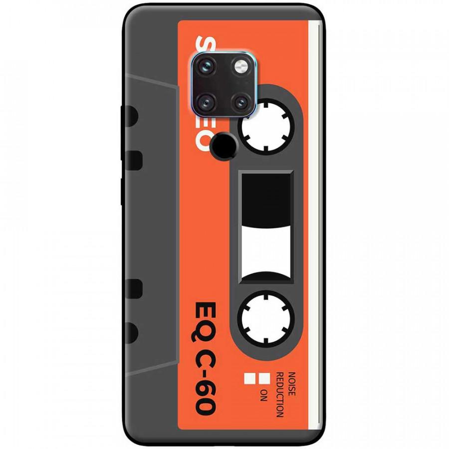 Ốp lưng dành cho Huawei Mate 20 mẫu Cassette xám cam