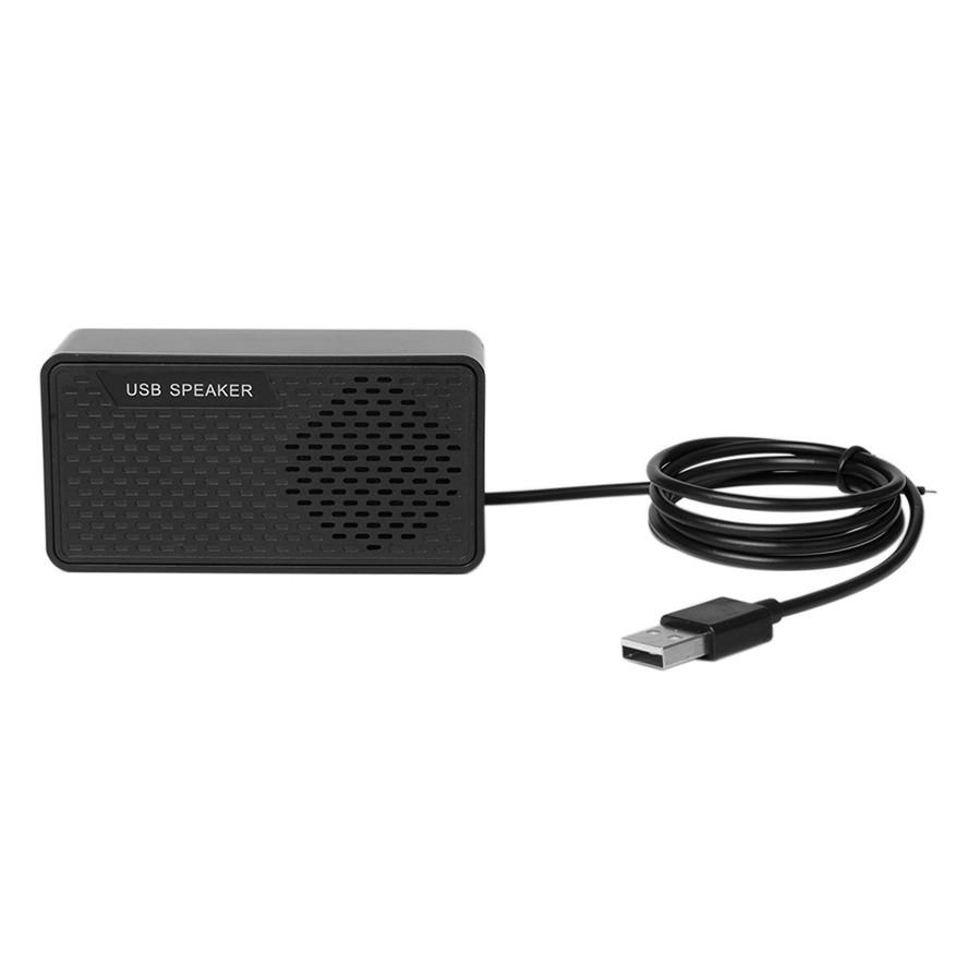 HK-5007 Computer Speaker USB Speaker Plug  Play Portable USB-powered Speaker Double Horn 3W Output Suitable for USB2.0