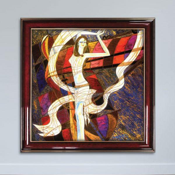 Tranh Khỏa Thân Phong Cách Sơn Dầu Tranh Trừu Tượng Cổ Điển Canvas Có Viền W1161