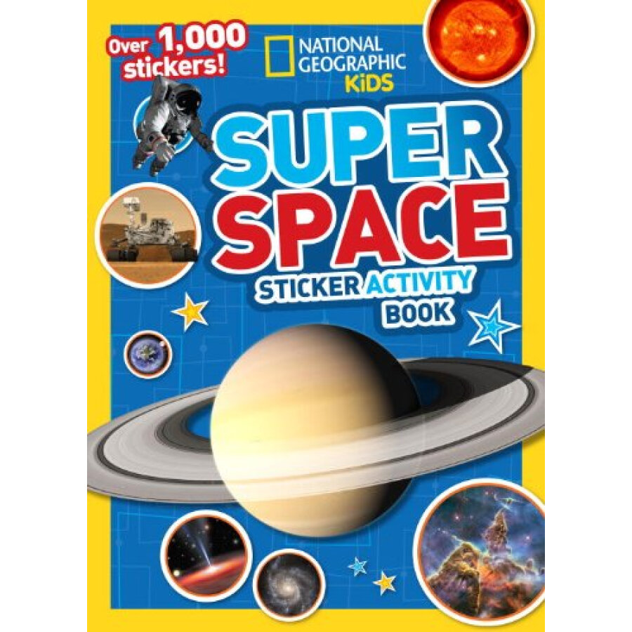 Super Space Sticker Activity Book:Over 1000 Stickers