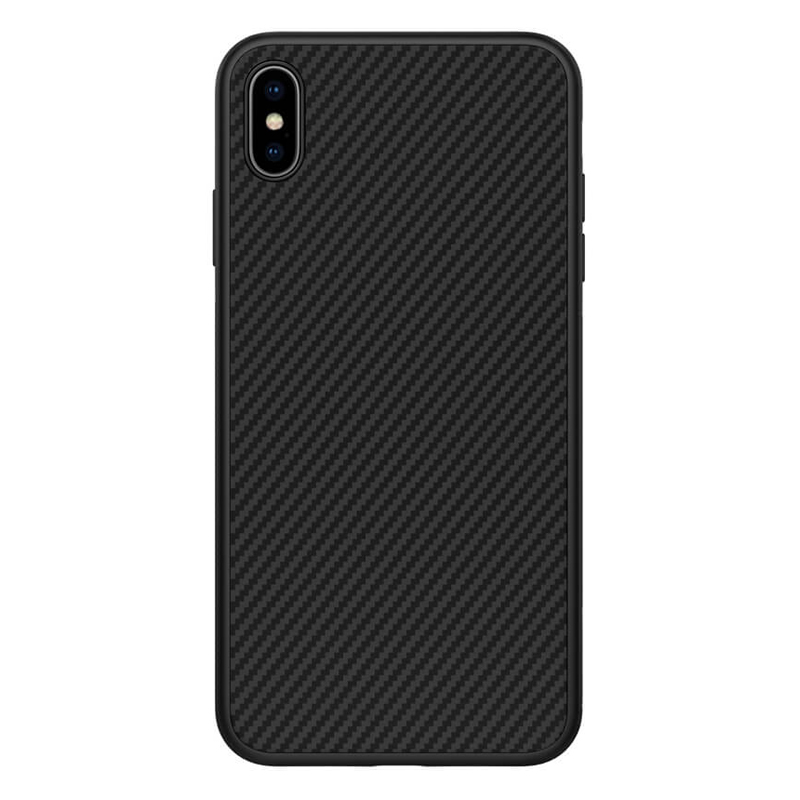 Ốp Lưng Dẻo Carbon Nillkin Fiber Dành Cho Điện Thoại iPhone Xs Max