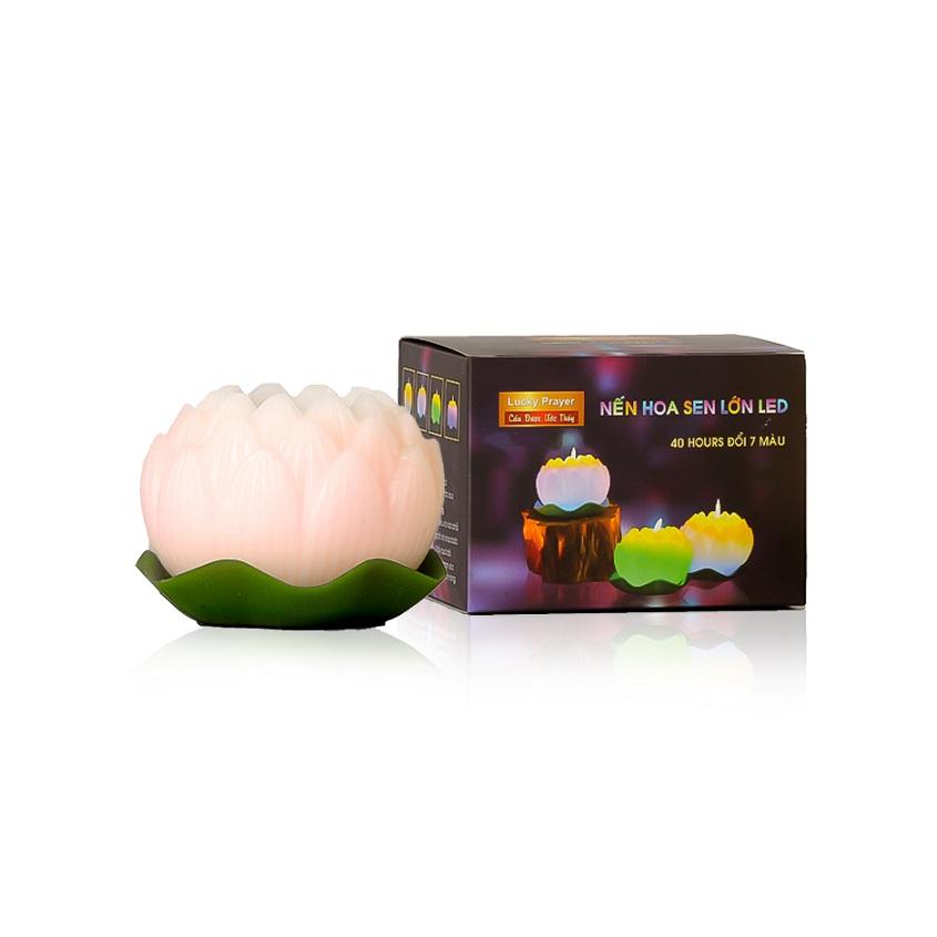 Nến thơm hoa sen lớn đổi màu đèn LED MIC5272 (Lựa chọn: vàng nhạt, hồng nhạt) - 2299750 , 8705540260984 , 62_14791108 , 200000 , Nen-thom-hoa-sen-lon-doi-mau-den-LED-MIC5272-Lua-chon-vang-nhat-hong-nhat-62_14791108 , tiki.vn , Nến thơm hoa sen lớn đổi màu đèn LED MIC5272 (Lựa chọn: vàng nhạt, hồng nhạt)
