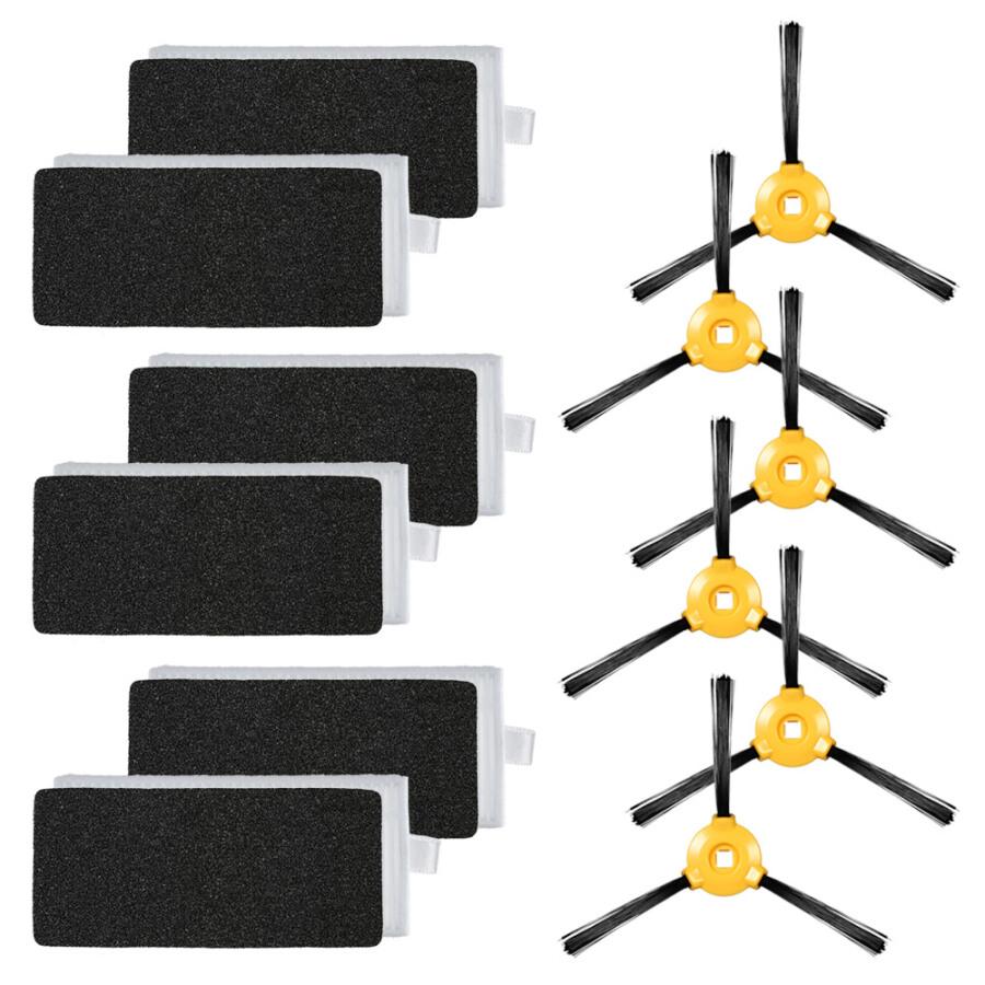 Bộ 12 Phụ Kiện Thay Thế Cho Robot Hút Bụi Ecovacs Deebot N79 N79S (6 Bộ Lọc HEPA + 6 Bàn Chải Bên) - 18849879 , 2131527881372 , 62_25503477 , 246000 , Bo-12-Phu-Kien-Thay-The-Cho-Robot-Hut-Bui-Ecovacs-Deebot-N79-N79S-6-Bo-Loc-HEPA-6-Ban-Chai-Ben-62_25503477 , tiki.vn , Bộ 12 Phụ Kiện Thay Thế Cho Robot Hút Bụi Ecovacs Deebot N79 N79S (6 Bộ Lọc HEPA