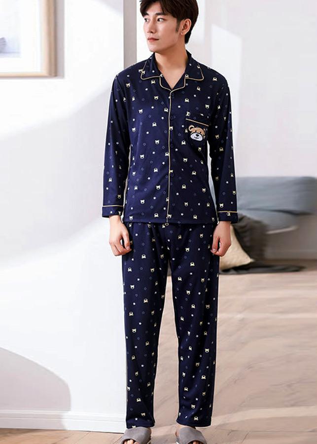 Bộ đồ ngủ pyjama nam Hàn Quốc 0109 Nam