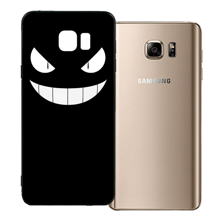 Ốp lưng viền TPU cho Samsung Galaxy Note 5 - Monster 01