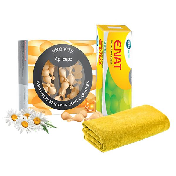 Bộ sản phẩm Serum dưỡng trắng +  Kem dưỡng ẩm tái tạo, làm mờ nếp nhăn da NNO VITE   Enat Vitamin E Natural Cream (1... - 1684702 , 6487144738701 , 62_11744646 , 441000 , Bo-san-pham-Serum-duong-trang-Kem-duong-am-tai-tao-lam-mo-nep-nhan-da-NNO-VITE-Enat-Vitamin-E-Natural-Cream-1...-62_11744646 , tiki.vn , Bộ sản phẩm Serum dưỡng trắng +  Kem dưỡng ẩm tái tạo, làm mờ nế