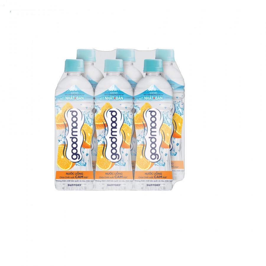Lốc 6 chai Nước uống chứa chiết xuất cam thật Good Mood 455ml - 1835895 , 3041424187462 , 62_13753642 , 46000 , Loc-6-chai-Nuoc-uong-chua-chiet-xuat-cam-that-Good-Mood-455ml-62_13753642 , tiki.vn , Lốc 6 chai Nước uống chứa chiết xuất cam thật Good Mood 455ml