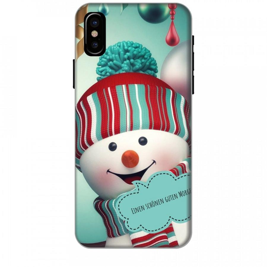 Ốp lưng dành cho điện thoại iPhone XR - X/XS - XS MAX - Cậu Bé Người Tuyết
