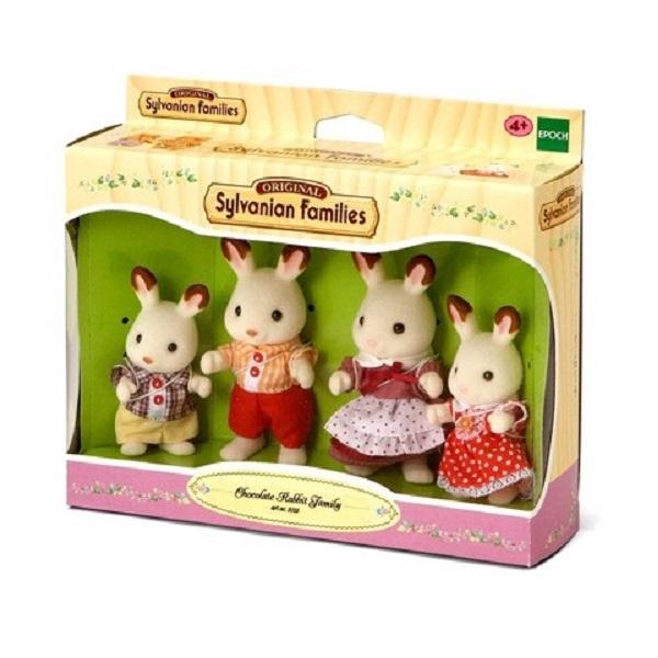 Sylvanian Families - Gia đình Thỏ Chocolate EP-4150 GOLDENKIDS