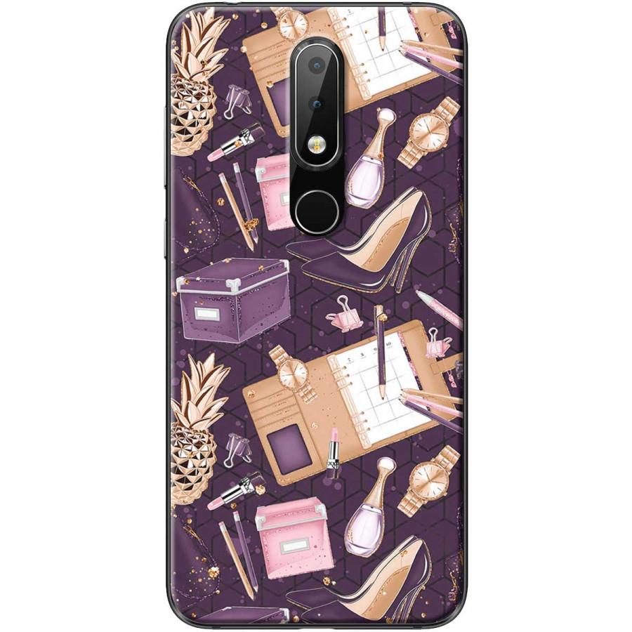 Ốp lưng dành cho điện thoại Nokia 6.1 Plus Mẫu Đồ dùng con gái