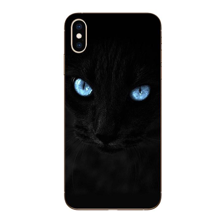 Ốp lưng dẻo cho Iphone XS Max - Hắc Miu