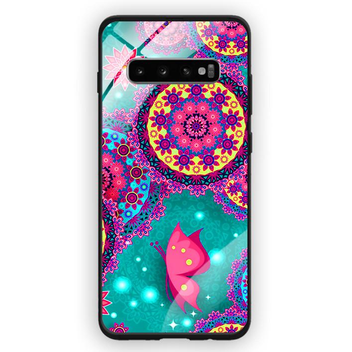 Ốp Lưng Kính Cường Lực Cho Điện Thoại Samsung Galaxy S10 Plus - 391 0098 THOCAM07 - Hàng Chính Hãng
