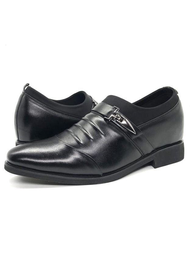 Giày tây nam tăng chiều cao 6cm LC03G