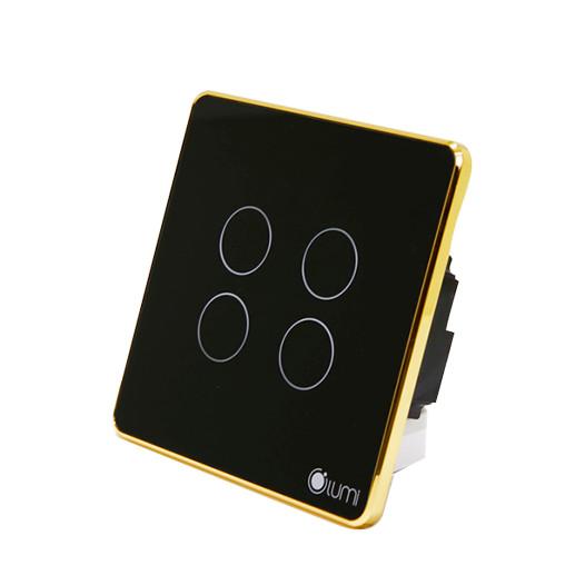 Công tắc viền chữ nhật 4 nút Lumi LM-SG - Đen - 769832 , 8041711106188 , 62_10184891 , 4027500 , Cong-tac-vien-chu-nhat-4-nut-Lumi-LM-SG-Den-62_10184891 , tiki.vn , Công tắc viền chữ nhật 4 nút Lumi LM-SG - Đen