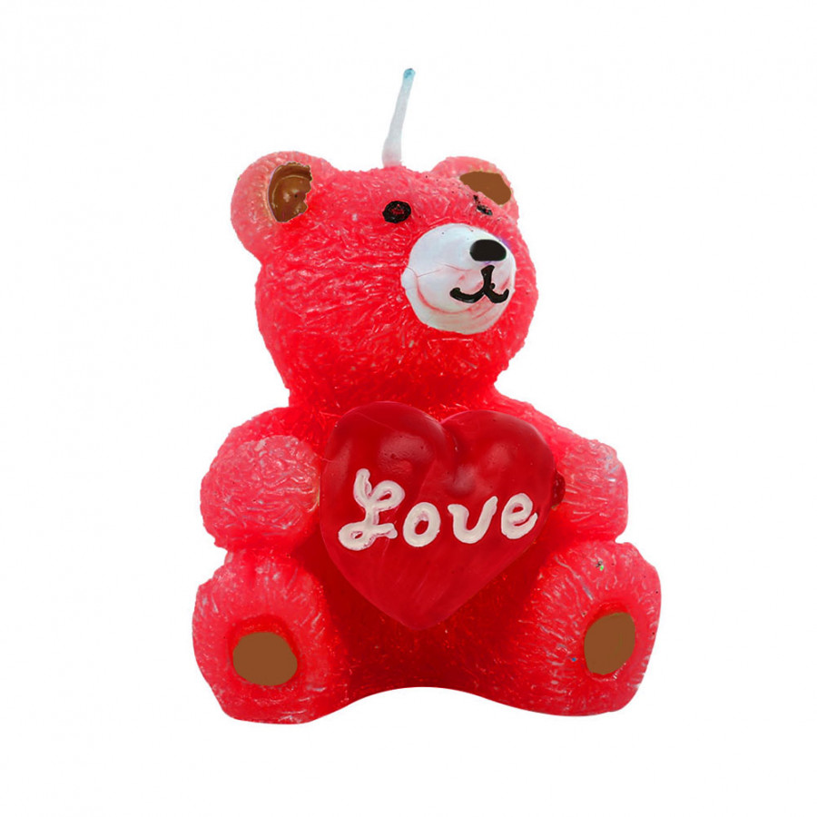 Candle Bougie Beautiful Paraffin LOVE Bear
