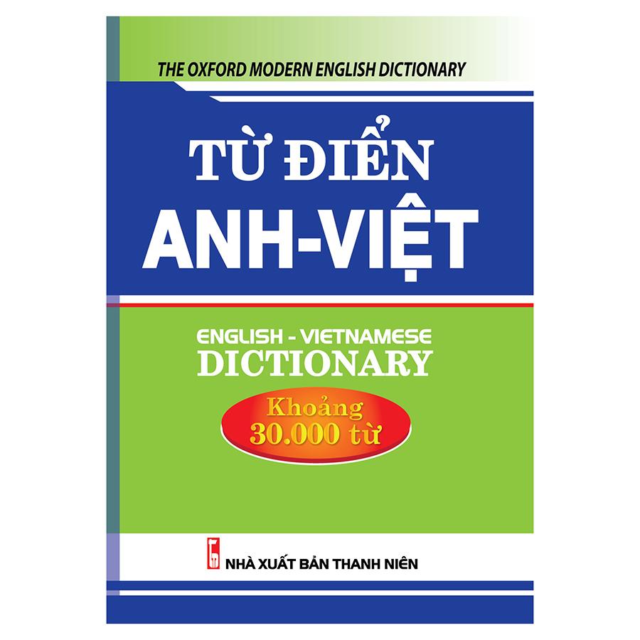Từ Điển Anh Việt 30.000 Từ