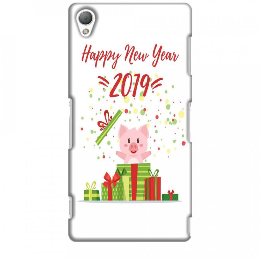 Ốp lưng dành cho điện thoại SONY Z3 Happy New Year Mẫu 3