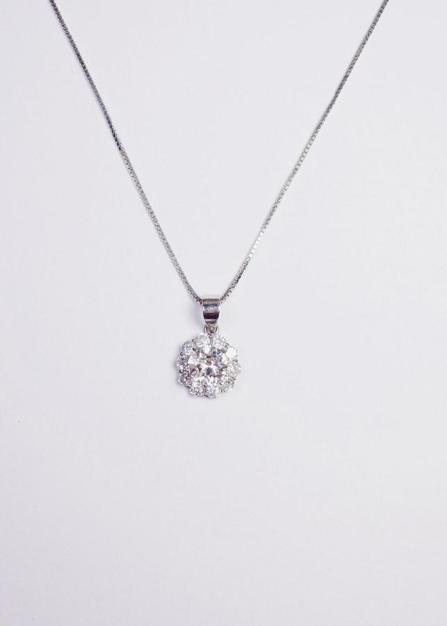 Trang sức dây chuyền bạc hoa mạ bạch kim đá Swarovski Keely Valda DCN025 - 7403429 , 9454842837286 , 62_15341173 , 450000 , Trang-suc-day-chuyen-bac-hoa-ma-bach-kim-da-Swarovski-Keely-Valda-DCN025-62_15341173 , tiki.vn , Trang sức dây chuyền bạc hoa mạ bạch kim đá Swarovski Keely Valda DCN025