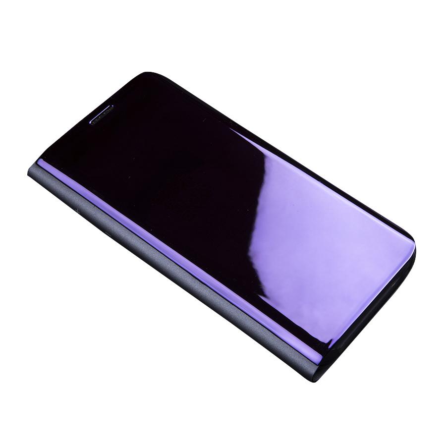 Bao Da Cho Samsung J8 2018 Clear View tráng gương