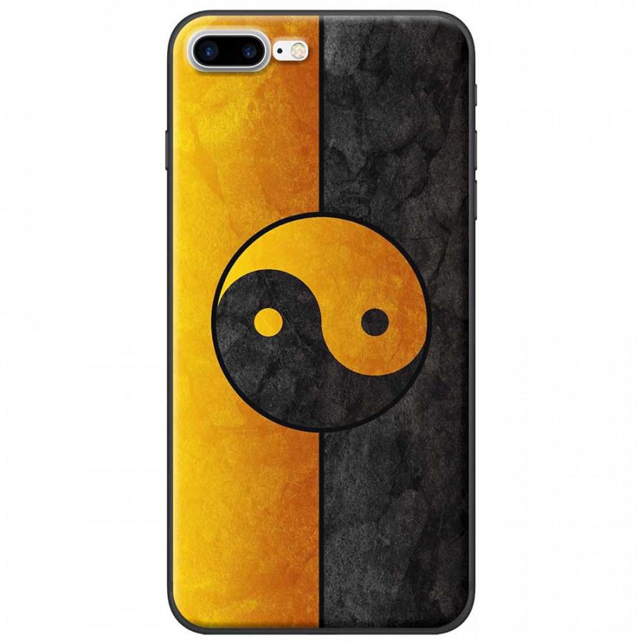 Ốp lưng dành cho iPhone 7 Plus mẫu Bát quái