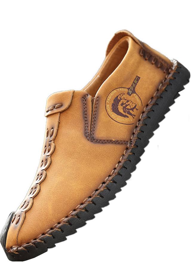 Giày lười Nam thiết kế độc đáo mới lạ 00607